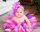 Baby Purple  Birthday Bas...