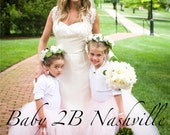 Pink Flower girl Wedding ...