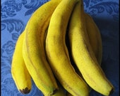 PDF Pattern, Primitive Banana, Fabric Faux Fruit, Primitive Fruit, Sewing Pattern, Banana