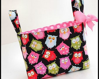 Organizer storage fabric Basket Bin OWLS