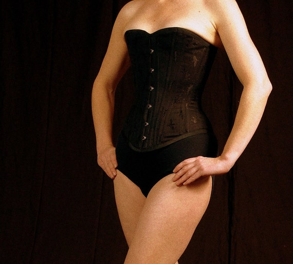 Black Lingerie, Corset, Goth Clothing