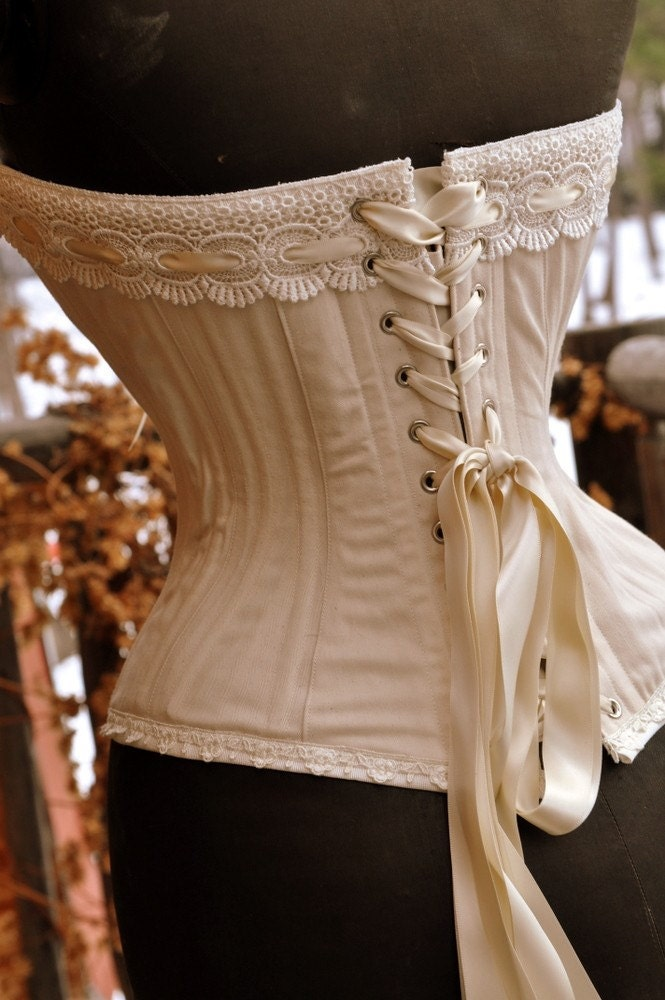 rustic wedding overbust corset perfect for steampunk wedding