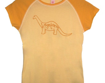 3 DOLLAR SALE: Vegetarian Dinosaur Juniors Shirt