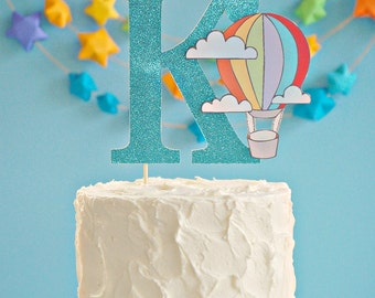 The Vintage Hot Air Balloon Collection - Custom Cake Topper from Mary Had a Little Party