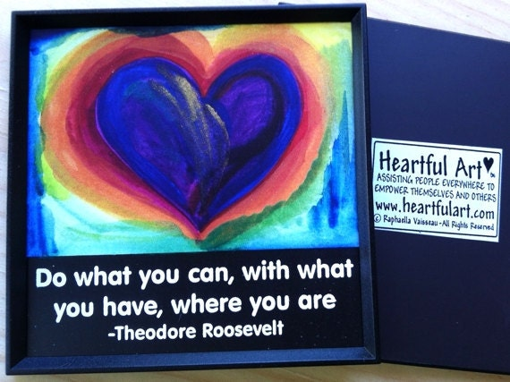 Do what you can theodore roosevelt inspirational magnet - What you can do with magnets ...