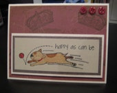 Made to Order: Bull Terrier, Jack Russell, Rat Terrier, Feisty Fetch and Nap Cards, Set of 5 with envelopes