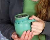 Turquoise  Mug - Made to Order