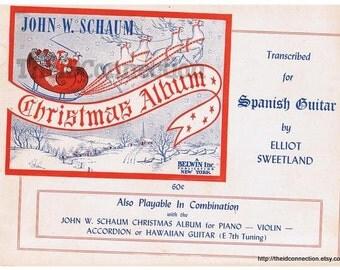 1948 Christmas Album Spanish Guitar Music, Christmas Music for Piano, Violin, Accordian, Hawaiian Guitar, Silent Night, First Noel, Jingle B