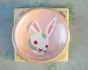 Vintage Bunny Rabbit Dresser Knob