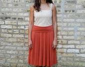 Organic Cotton & Bamboo Circle Skirt or Poncho