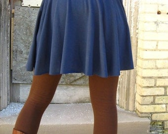 Organic Cotton & Bamboo Short Pull on Skirt