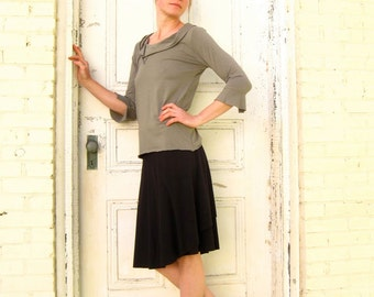 Organic Cotton & Bamboo Wrap Skirt