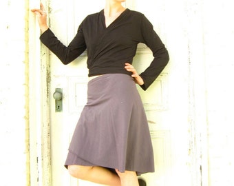 Organic Cotton & Bamboo Wrap Skirt