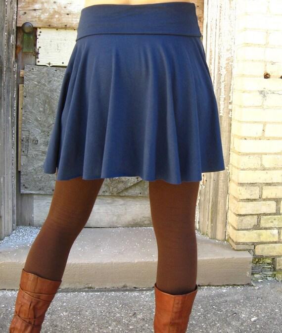 Lola ~ Short Circle Skirt ~ Bamboo & Organic Cotton ~ Made to Order