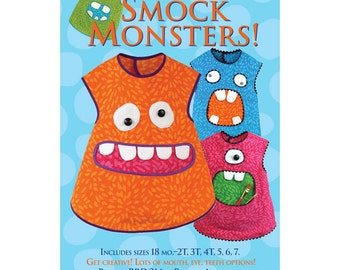Smock Monsters apron sewing pattern