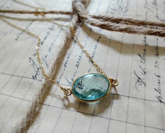 Everyday sparkler necklace -