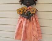 Pattern epattern Primitive Folk Art Doll Pattern Daisy May Raggedy Rhondas instant download FAAP team