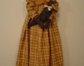 Primitive Folk Art Cloth Doll ePattern faap team