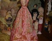 Reserved for Rosemary Gorgeous Vintage Boudoir Doll Lingerie Bag