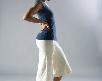 Culottes // Stretch Hemp & Organic Cotton // Gauchos // Capri // Eco Fashion //