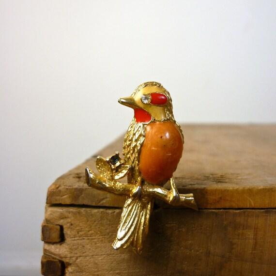 1950s Bird Pin - 1950s Bird Brooch