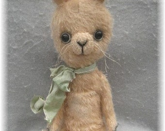 "Artist Bear Immediate Download PDF Pattern For 13"" Japanese Style Bunny Rabbit By Kim Endlich"