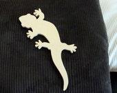 Unfinished Large Mdf Gecko Mosaic Base Craft Shape 1/2 Inch Thick