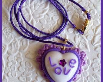 Love Heart Pendant no. 3