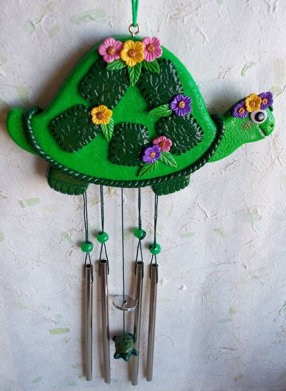 Tilly Turtle Wind Chime