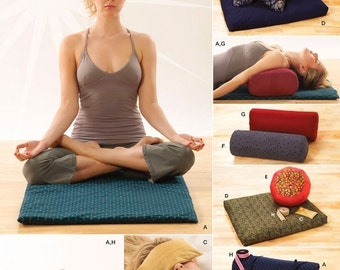 YOGA ACCESSORIES Sewing Pattern Simplicity 3583 Bag Mat Pillows OOP