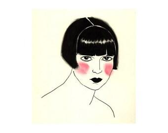 Art Deco Art - Pandora I - 4 X 6 print