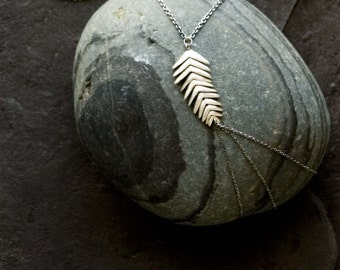 Sterling Mountain Brome Necklace | 11 Spikelets
