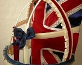Union flag bustle belt -  To Order