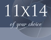 """Choose any print in 11x14"""" (28x35cm) size"""