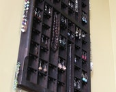 Vertical Printers Drawer Jewelry Display