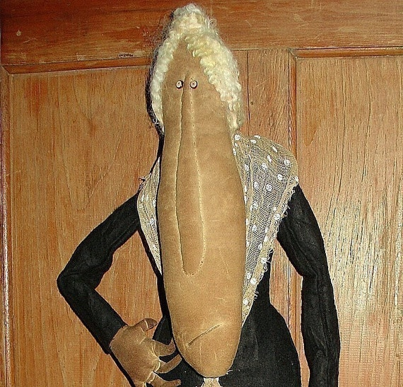 The Old Croney Mahoney, A Primitive Doll Pattern from Raven's Haven