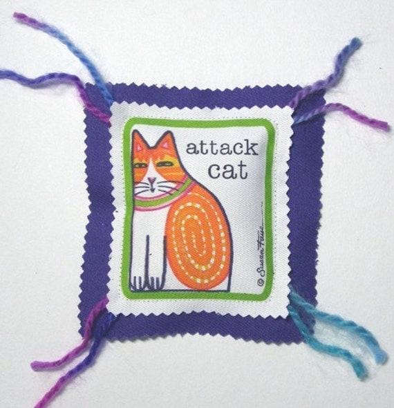 Catnip Cat Toy...  Handcrafted Catnip Ravioli for ATTACK CAT