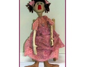 Sweetpea Handmade Primitive Raggedy Ann Doll
