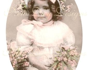 Curious Clara, Victorian Photo Scan, Instant Digital Download, DP010