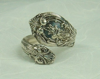 King Edward  Vintage Gorham Sterling Silver Spoon Ring