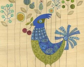 Penelope the Bird 8.5 x 11 Print