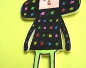 Katamari cousin badge/pin - Dipp