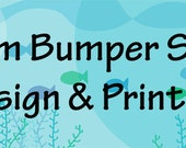 "Custom Bumper Sticker--11"" x 3"""