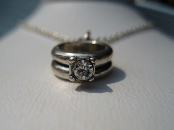 Put a Ring on It Sterling Silver Charm
