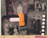 Edwardian Women | Printable Antique Tin Types | Vintage Photo Collage Sheet