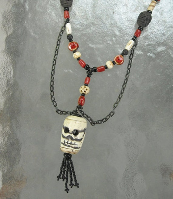 SALE----Skull Necklace