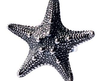 StarFish Ring Star fish Silver