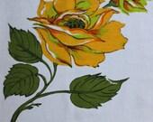 Vintage Rose Print Tablecloth