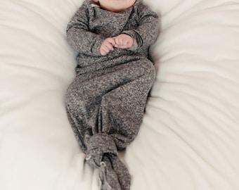Original Knottie™ baby sleeper- Stone