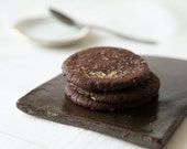 Chocolate Gingersnaps, Crispy Chocolate Ginger Cookies
